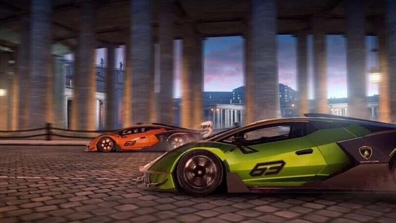Lamborghini Essenza SCV12corre su Asphalt 9