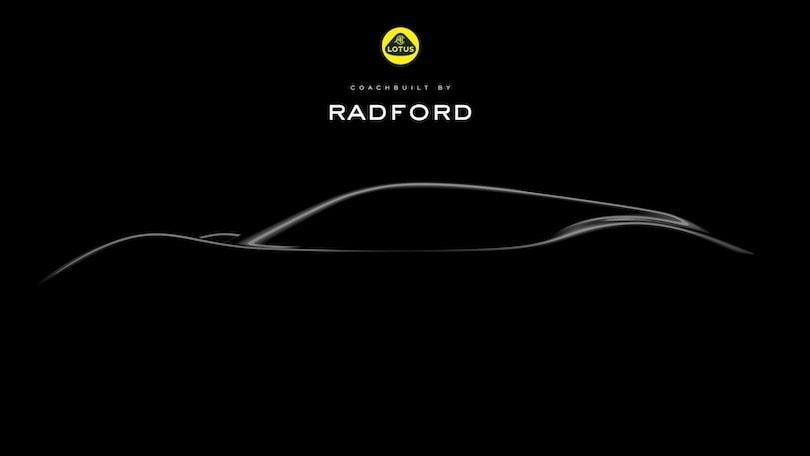 Radford, il carrozziere inglese torna su base Lotus