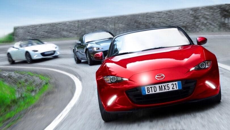 Mazda MX-5 Back to Drive: raduno diffuso in tutta Italia