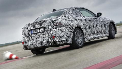 Nuova BMW Serie 2 Coupé, muletti