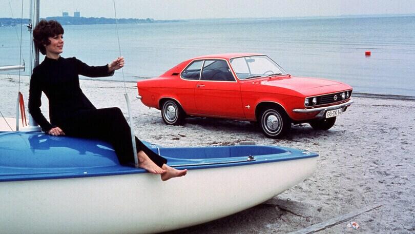 Opel Manta, quando la famiglia viaggiava in coupé