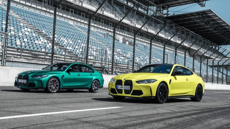 BMW M3 e M4 Competition, potenza bruta alla prova