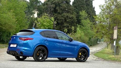 Alfa Romeo Stelvio Veloce TI, il test su strada