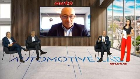 Ministro Roberto Cingolani, Ministero della Transizione Ecologica, ad AutomotiveLab 2021