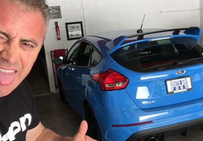 Friends, Matt LeBlanc e il suo garage di lusso