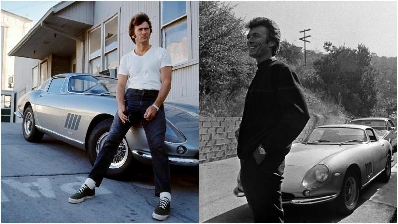 Clint Eastwood, buon compleanno ricordando la sua Ferrari 275 GTB