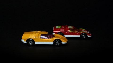 Mazda RX500, il modellino Matchbox