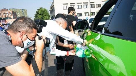 Milano Monza Motor Show, la journalist Parade