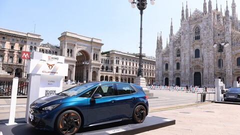 Cupra Born al Milano Monza Motor Show