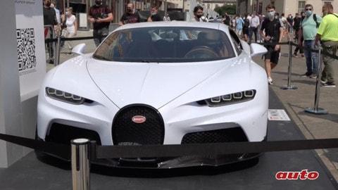 Milano Monza Motor Show, la Bugatti Chiron Super Sport