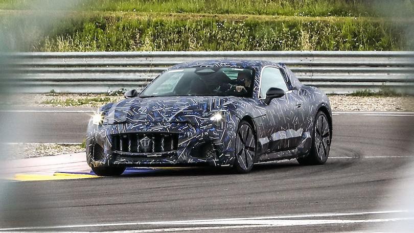 Nuova Maserati Granturismo, le prime immagini dell'elettrica