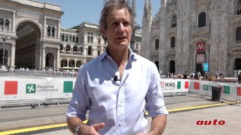 Alessandro Benetton al Milano Monza Motor Show