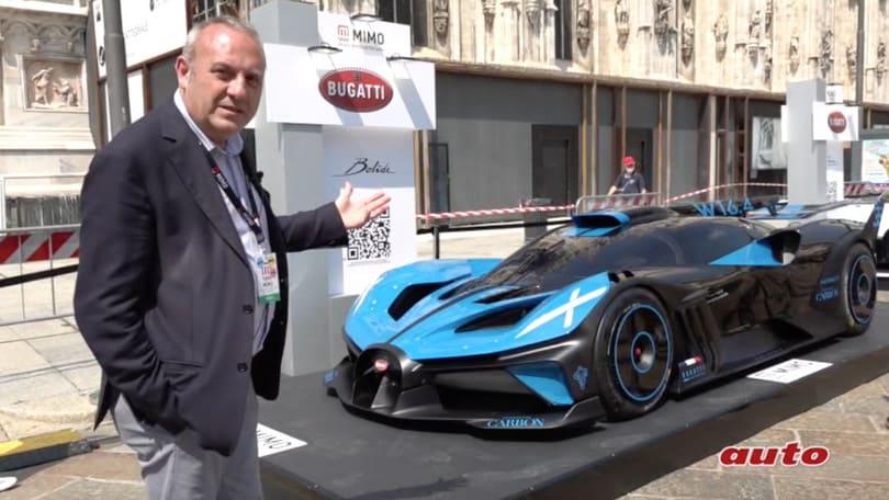 Milano Monza Motor Show, la Bugatti Bolide