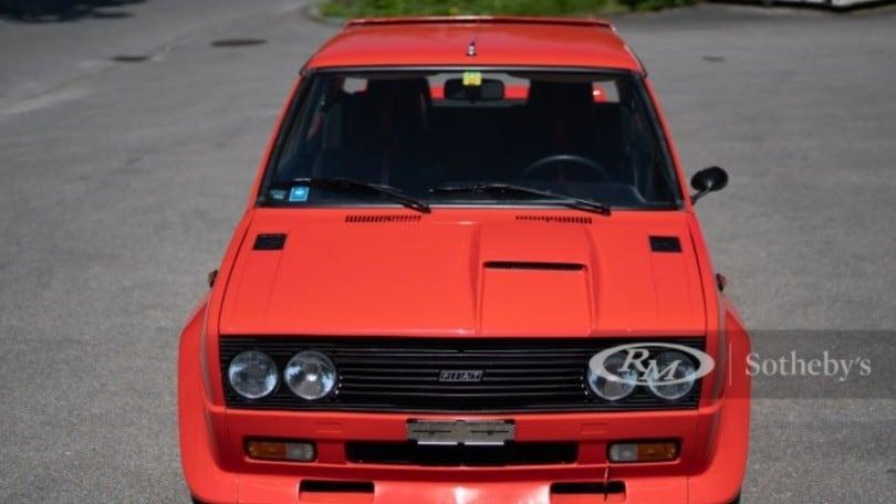 Fiat 131 Abarth Rally, all'asta una mitica Stradale