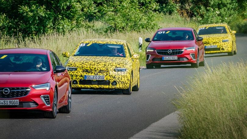 Nuova Opel Astra: il test drive dei prototipi