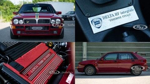 """Lancia Delta HF Integrale Evo 2 """"Edizione Finale"""" all'asta"""