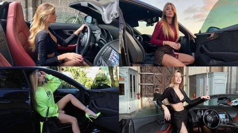 Chiara Nasti, l'ex di Zaniolo con la passione per le auto