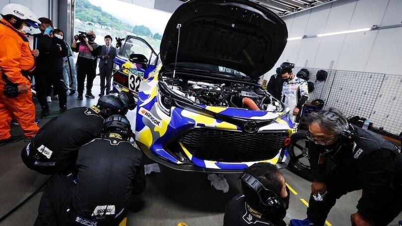 Toyota con motore a idrogeno, dalla pista alla ricerca per il futuro