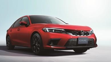 Nuova Honda Civic, solo ibrida in Europa: le prime immagini e l'uscita