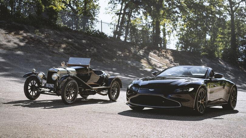 Aston Martin Vantage Roadster A3, omaggio alla sportiva anni '20