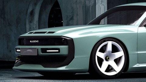 E-Legend EL1, il restomod elettrico di Audi Sport Quattro S1