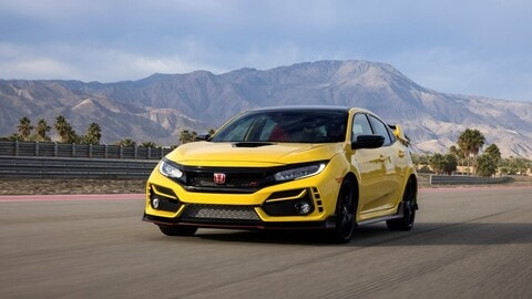 Honda Civic Typer R Limited Edition: la prova a Vallelunga