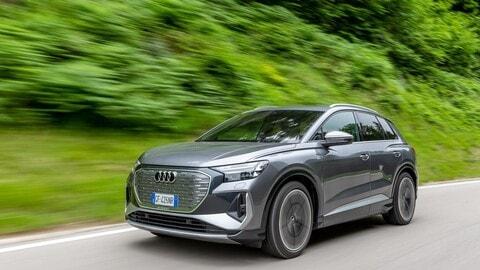 Audi Q4 e-tron, la prova su strada