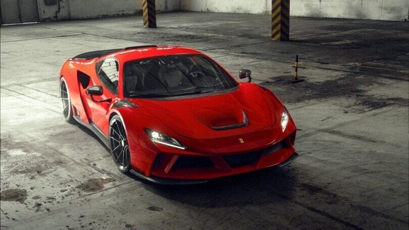 Ferrari F8 N-Largo: la Tributo di Novitec è una