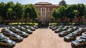 Peugeot consegna trenta e-208 alla Guardia di Finanza a Roma
