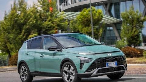 Hyundai Bayon, la prova
