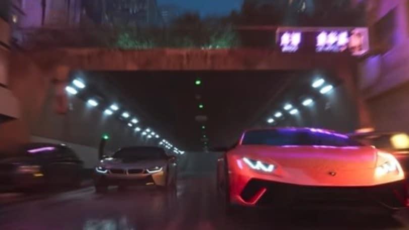 Lamborghini, Aston Martin, Porsche e BMW sfrecciano nel trailer del nuovo Test Drive