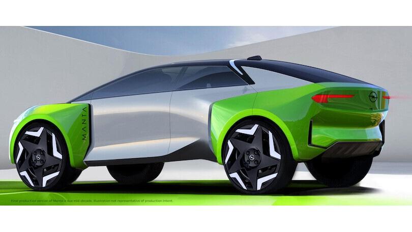 Opel farà solo auto elettriche e nei piani c'è il suv Manta