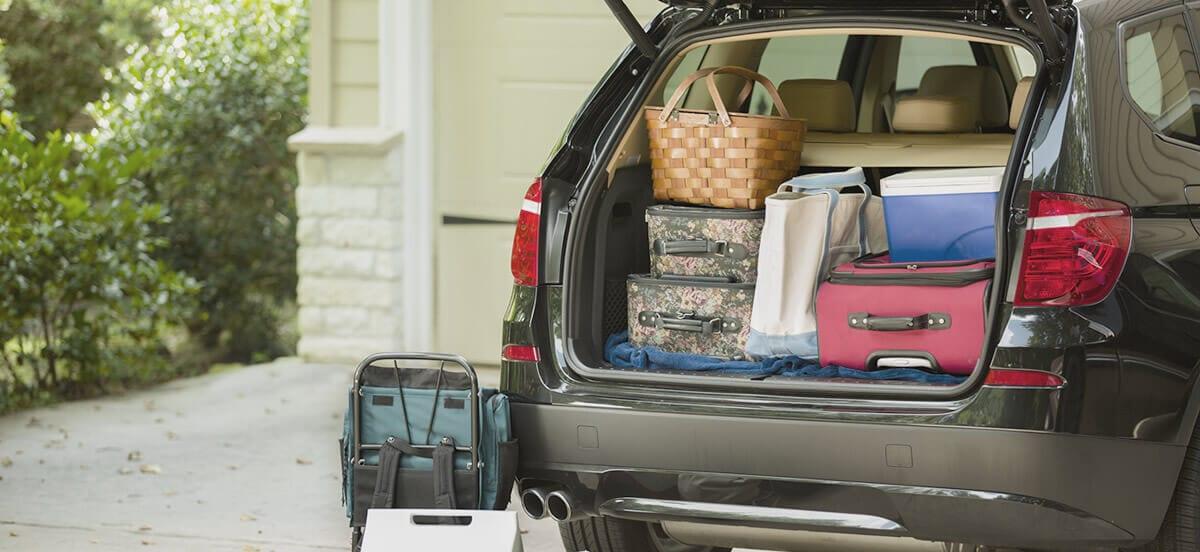 Vacanze, come caricare al meglio i bagagli in auto