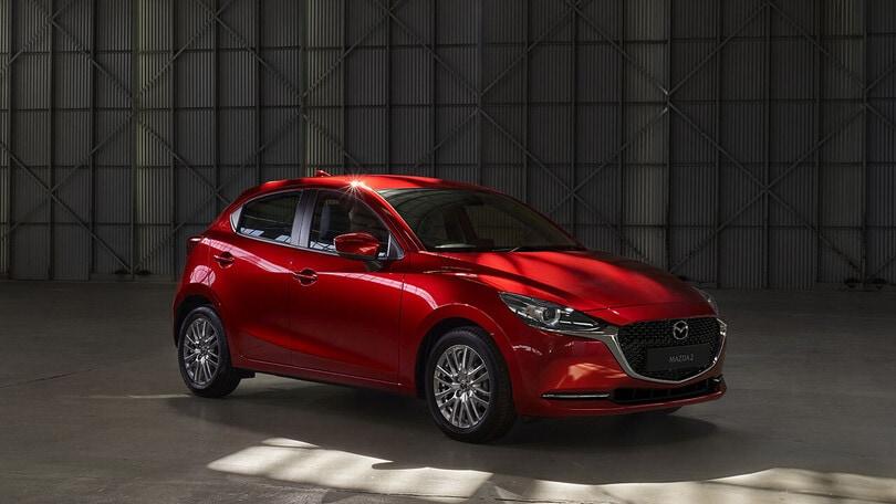 Mazda anticipa gli incentivi auto 2021