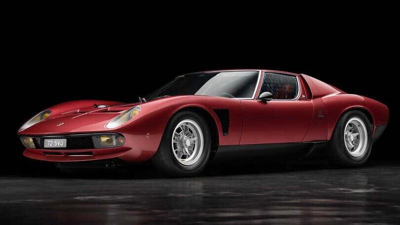 Lamborghini Miura SVJ, all'asta una bellezza degli anni '70