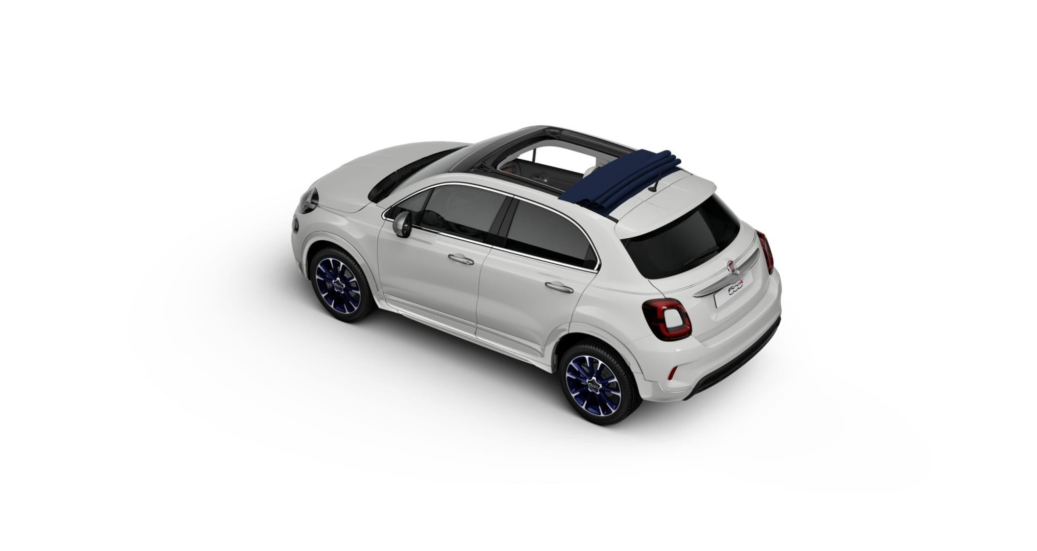Fiat 500X Dolce Vita Launch Edition, altra cabrio speciale