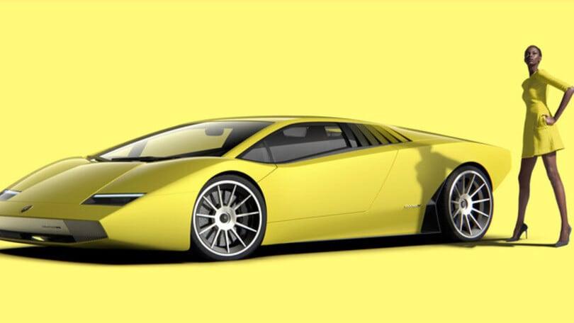 Lamborghini, il tributo alla Countach è su base Aventador