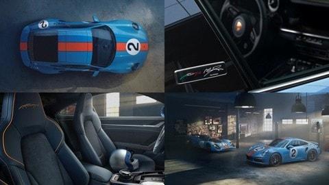"Porsche 911 Turbo S ""One of a Kind"" Pedro Rodríguez"