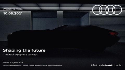 Audi Skysphere: primi dettagli della concept car tedesca
