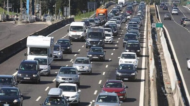 Traffico weekend 31 luglio-1° agosto: la mappa delle strade da bollino rosso