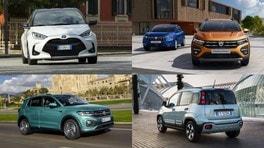 Auto più vendute in Italia a luglio 2021: la Top 10