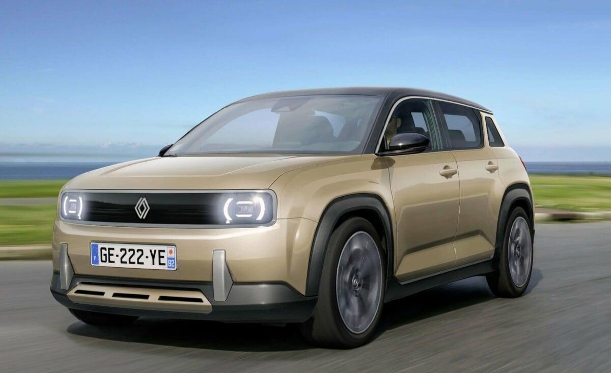 Renault 4, il ritorno è fissato per il 2025 con la R 4L elettrica