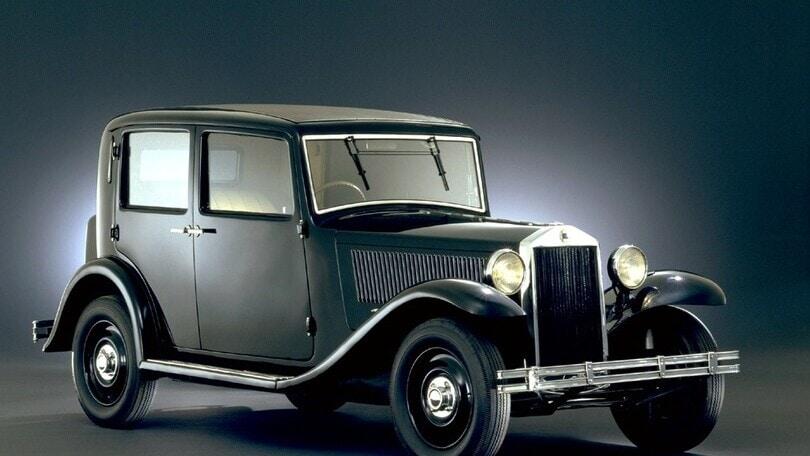 Lancia Augusta, la prima auto della storia dotata di monoscocca