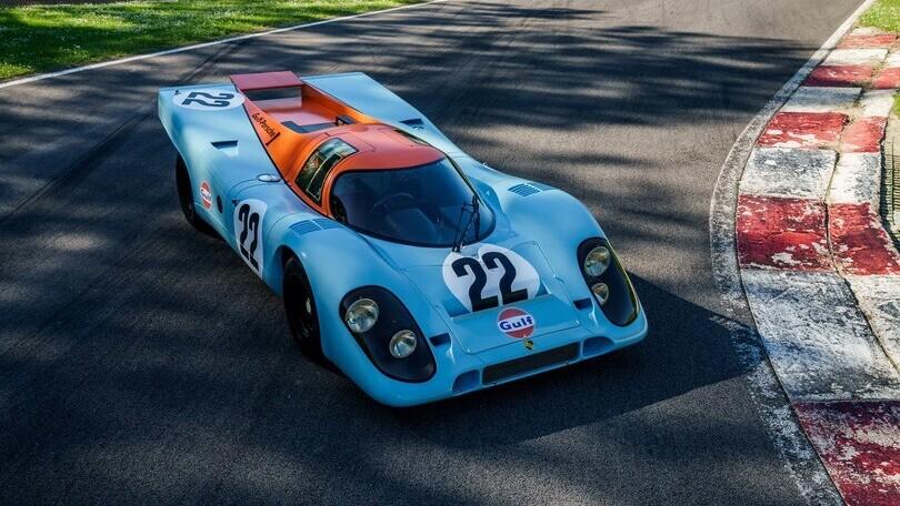 Porsche 917K, all'asta la regina di Le Mans 1970
