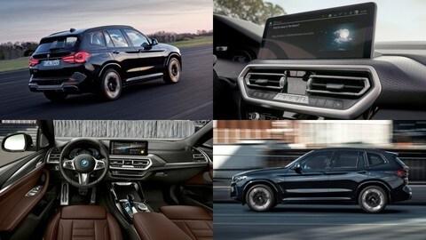 Nuova BMW iX3 2021