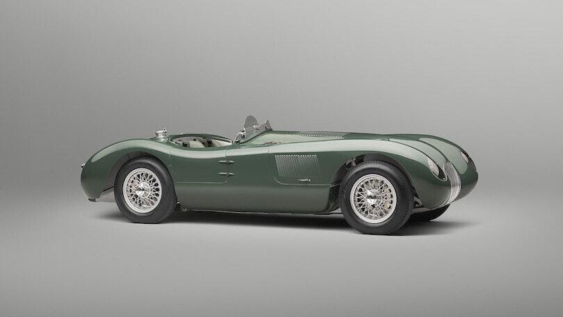 Jaguar C-Type Continuation, al volante della Le Mans '53 nel 2022
