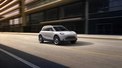 smart, il futuro è un Suv elettrico: il Concept #1 al Salone di Monaco