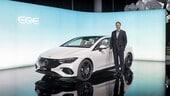 Mercedes EQE ripensa la berlina business elettrica a Monaco 2021