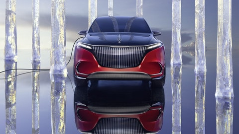 Mercedes-Maybach EQS Concept, lusso green al Salone di Monaco
