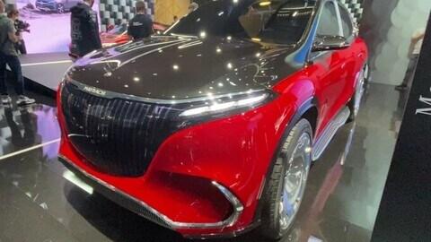 Mercedes-Maybach EQS Concept al Salone di Monaco